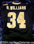Autographs, Ricky Williams