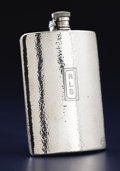 Silver Holloware, American:Flasks, AN AMERICAN SILVER FLASK. Tiffany & Co., New York, New York,1917. Marks: TIFFANY & CO., 19427E MAKERS 7868, STERLINGSILV...