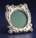 Silver Holloware, British:Holloware, AN EDWARDIAN SILVER OVERLAY PICTURE FRAME. Unidentified maker,Birmingham, England, 1904-1905. Marks: (lion passant), (ancho...