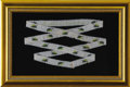 Political:Miscellaneous Political, Andrew Jackson: Rare Piece of Early Beadwork with His Name....