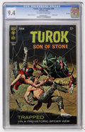 Silver Age (1956-1969):Adventure, Turok, Son of Stone #59 File Copy (Gold Key, 1967) CGC NM 9.4 Off-white to white pages....