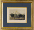 Political:Small Paper (pre-1896), United States Capitol Building Engraving,...
