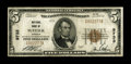 National Bank Notes:Virginia, Suffolk, VA - $5 1929 Ty. 1 NB of Suffolk Ch. # 9733. ...