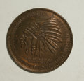 Expositions and Fairs, Two 1915 Panama-Pacific Souvenir Pennies.... (Total: 2 tokens)