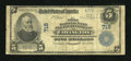 National Bank Notes:Kentucky, Covington, KY - $5 1902 Plain Back Fr. 598 The First NB & TCCh. # 718. ...