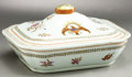 Political:3D & Other Display (pre-1896), American Eagle: Colorful 19th Century Lidded Serving Dish....