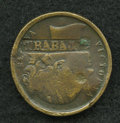 Counterstamps, 1851 Great Britain Crystal Palace Token Counterstamped....