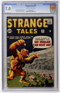 Silver Age (1956-1969):Horror, Strange Tales #98 (Marvel, 1962) CGC FN/VF 7.0 Off-white to whitepages....