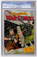 Golden Age (1938-1955):War, Star Spangled War Stories #33 (DC, 1955) CGC FN/VF 7.0 Off-white towhite pages....