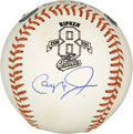 Autographs:Baseballs, Cal Ripken, Jr. Single Signed 2,131 Baseball. . To mark themilestone that Cal Ripken, Jr. reached when he broke Lou Gehrig...