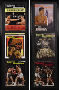 Boxing Collectibles:Autographs, Muhammad Ali Signed Sports Illustrated Magazines Run of 37. Incredibly comprehensive offering was a visionary project for o...