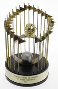 Baseball Collectibles:Others, 1982 St. Louis Cardinals World Championship Trophy. A thrillingseven-game Series this season pitted the plucky Milwaukee B...