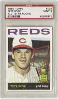 Baseball Cards:Singles (1960-1969), 1964 Topps Pete Rose All-Star Rookie #125 PSA Mint 9. In 1,516tries, as of the time of this writing, not a single represen...