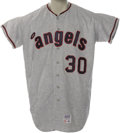Baseball Collectibles:Uniforms, 1971 California Angels Game Worn Jersey Attributed to Nolan Ryan. While impossible to state definitively, the overwhelming ...