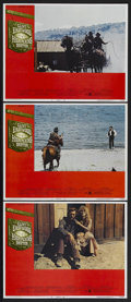 """Movie Posters:Western, High Plains Drifter (Universal, 1974). Lobby Cards (3) (11"""" X 14""""). Western. Staring Clint Eastwood, Verna Bloom and Mariana... (Total: 3 Items)"""