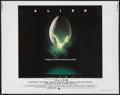 "Movie Posters:Science Fiction, Alien (20th Century Fox, 1979). Half Sheet (22"" X 28""). ScienceFiction Thriller. Starring Tom Skerritt, Sigourney Weaver, V..."