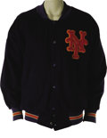 Baseball Collectibles:Uniforms, 1969 Gil Hodges Game Worn Jacket. Originally acquired directly from the family of the beloved Brooklyn Dodgers player and N...