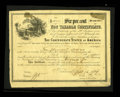 Confederate Notes:Group Lots, Ball 371 Cr. UNL $10,000 1864 Six Per Cent Non Taxable CertificateFine. Only 60 of these were issued with serial numbers 13...