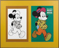 Original Comic Art:Covers, Mickey Mouse Large Format Cover Original Art (1970). We can't say for sure who the artist of this piece or what it was actua...