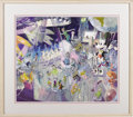 animation art:Production Drawing, Disneyland Celebration Concept Illustration Original Art (Disney,undated). ...