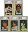 Baseball Cards:Sets, 1952 Topps Baseball Near Complete Set (399/407). The 1952 Topps setwas the largest set of its day, both in number and size ...