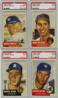 Baseball Cards:Sets, 1953 Topps Baseball Complete Set (274). Baseball trivia questionswere implemented on card backs for the first time, along w...