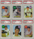 Baseball Cards:Sets, 1969 Topps Baseball Complete Set with Variations (693). This popular set marks the last card for Mickey Mantle and the first...