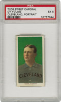 Baseball Cards:Singles (Pre-1930), 1909-11 T206 Cy Young Portrait PSA EX 5. Cy Young's 511 career winsare more than 100 in front of any other pitcher that ha...