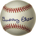 Movie/TV Memorabilia:Autographs and Signed Items, Buddy Ebsen Signed Baseball. A Rawlings baseball signed by Ebsen inblue felt tip. In Excellent condition. Accompanied by ...(Total: 1 Item)