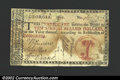 Colonial Notes:Georgia, 1776, $10, Georgia, GA-76c, VG. Backed and repaired where a ...
