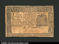 Colonial Notes:New York, New York September 2, 1775 $1 Very Fine. An unusually nice,...
