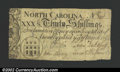 Colonial Notes:North Carolina, March 9, 1754, 30s, North Carolina, NC-81, Fine overall, but ...