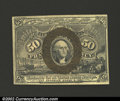Fractional Currency:Second Issue, Second Issue 50c, Fr-1317, Choice AU. A very light vertical ...