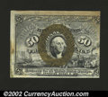 Fractional Currency:Second Issue, Fr. 1321 50c Second Issue New. Poorly centered and with a ...