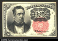 Fractional Currency:Fifth Issue, Fifth Issue 10c, Fr-1265, Choice CU. Long key variety. This ...