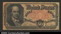 Fractional Currency:Fifth Issue, Fifth Issue 50c, Fr-1381, Fine. Crawford note with some light ...