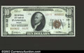 National Bank Notes:Indiana, Evansville, IN - $10 1929 Ty. 2 The National City Bank ...