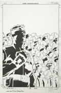 Original Comic Art:Covers, Adam Pollina and Andrew Pepoy - Mutant X #18 Cover Original Art(Marvel, 2000)....