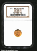 """Commemorative Gold: , 1917 $1 McKinley MS66 NGC. The latest Coin World """"Trends"""" ..."""