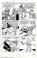 """Original Comic Art:Panel Pages, Jack Kirby - Original Art for The Fantastic Four #14, Page 9(Marvel, 1962). In order to obtain """"sweet revenge"""" against the ..."""