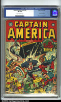 Golden Age (1938-1955):Superhero, Captain America Comics #26 (Timely, 1943) CGC FN+ 6.5 Cream to off-white pages. This copy presents beautifully for a FN+. Th...