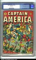 Golden Age (1938-1955):Superhero, Captain America Comics #29 (Timely, 1943) CGC VF 8.0 Cream to off-white pages. Viva la resistance! This issue features Cap a...