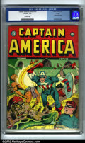 Golden Age (1938-1955):Superhero, Captain America Comics #30 Chicago pedigree (Timely, 1943) CGC VF/NM 9.0 Off-white pages. Yet another gorgeous copy out of C...