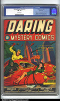 Golden Age (1938-1955):Superhero, Daring Mystery Comics #1 Kansas City pedigree (Timely, 1940) CGC FN- 5.5 Off-white pages. Timely's second series, published ...