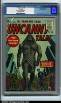 """Golden Age (1938-1955):Horror, Uncanny Tales #38 White Mountain pedigree (Atlas, 1955) CGC FN+ 6.5Off-white to white pages. In this issue """"The Pharaoh Wal..."""