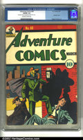 Golden Age (1938-1955):Superhero, Adventure Comics #60 (DC, 1941) CGC VG/FN 5.0. Highly prized by savvy collectors, Flessel Sandman covers are a notch above t...