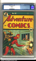 Golden Age (1938-1955):Superhero, Adventure Comics #62 (DC, 1941) CGC FN- 5.5 Off-white pages. Sporting an classic Starman cover, this is truly a key Golden A...