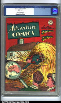 Adventure Comics #104 (DC, 1946) CGC NM+ 9.6 Cream to off-white pages. An executive decision was made at DC to turn More...