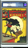 Golden Age (1938-1955):Superhero, All-American Comics #19 (DC, 1940) CGC FN 6.0 Cream to off-white pages. POW! A Classic Golden Age Green Lantern Cover! Golde...