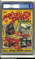 Golden Age (1938-1955):Superhero, All-Star Comics #1 (DC, 1940) CGC VF 8.0 Off-white pages. Undoubtedly one of the most significant early DC keys, this copy i...